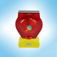 High quality New arrival LED flashing light solar power road safety traffic Barricade light(China)