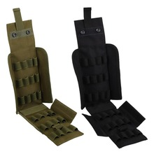 25 Round 12GA 12 Gauge Shells Ammo Reload Magazine Storage Pouches Bandolier Bullet Holder Pistol Shotgun Hunting Tactical Kit