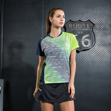 New badminton sets Quick Dry breathable sportswear trainning , Women/ Men table tennis shirt , Ping pong shirt + skorts W1013