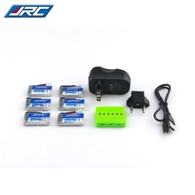 Best Deal Original JJRC H31 RC Quadcopter Spare Parts 6Pcs 3.7V 400MAH 30C Lipo Battery and Charger Set X 6A-A13(China)