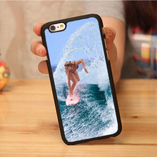 Capa unique Billabong Surfboards Cover Soft Rubber Back Case Cover For iPhone 6 6S Plus 7 7 Plus 5 5S 5C SE 4 4S phone bag