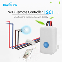 2017 Broadlink SC1 Wireless Wifi Remote Control Power Switch Smart Home Automation Modules Controller via iOS&AndroidMobilephone(China)