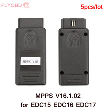 5pcs/lot MPPS V16.1.02 ECU Chip Tuning for EDC15 EDC16 EDC17 MMPS ECU Flasher DHL Free shipping(China)