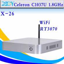 thin client MINI PC htpc mini itx with CPU C1037U barebone pc thin client zero client pc net pc hot selling(China)