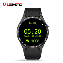 New KW88 Android 5.1 OS Smart Watch Phone MTK6580 ROM 4GB + RAM 512MB Camera Smartwatch Support Google Voice GPS Map