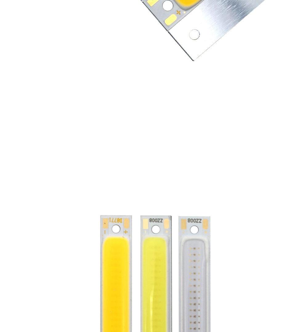 cob led strip light lamp bulb car lighting 3.7V 3w (5)