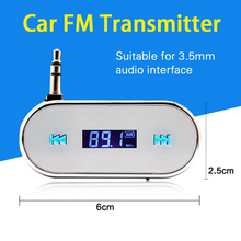 XYCING 3.5mm Mini Wireless Transmitter Car Radio Adapter Car MP3 Player For Smartphone(China)