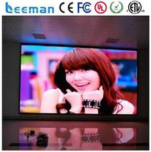 Leeman P1.914 indoor HD led panel indoor 3mm SMD led display small pixel pitch screen with die casting aluminum cabinet