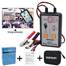 EM276 Universal Car Fuel Injector System Analyzer & Fuel Injector 4 Pluse Modes Tester Powerful Fuel System Scan Tool(China)