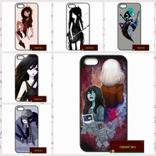 Adventure Time Marceline Cover case for iphone 4 4s 5 5s 5c 6 6s plus samsung galaxy S3 S4 mini S5 S6 Note 2 3 4  DE0011
