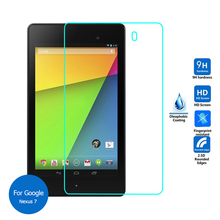 For Google Nexus 7 2nd Gen 2013 Tempered Glass Screen Protector Cover 9h Safety Protective Film on Nexus7 2012