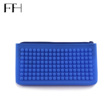 Practical casual women's silicone Long collection Wallets female cheap phone purse Coin Purse Lady Portable card holder Key Bag
