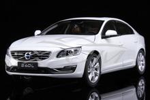 Diecast Car Model Volvo S60L 1:18 (Crystal White Pearl) + SMALL GIFT!!!!!!!!!!!