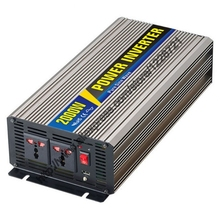 2000W Pure Sine Wave Inverter for Solar Panel 12VDC 24VDC 48VDC To AC110V 220V For Small photovoltaic power generation system(China)