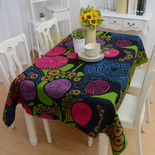 Fashion wind dream Table Cloth Wat cotton table cloth home hotel drape Table Cover Overlay(China)