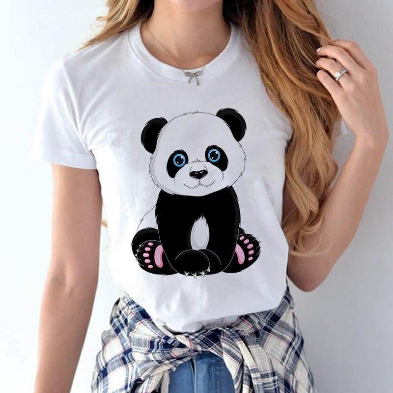 100% Coton 2018 Femmes T chemises D'été Amour Imprimé T-shirt Bande Dessinée Occasionnel de Court Manches Shirt Tops Plus La Taille Blanc T-shirt 25