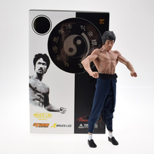 Kung Fu Bruce Lee Figure STORM Collectibles 1/12 Premium Figure Classic Baby Toys Gift(China)