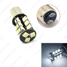 10Pcs White/Yellow/Red/Blue/Green BAY15D/1157/P21W 27LEDs CANBUS 5050SMD LED Light Bulbs #J-4708