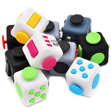 Pudcoco Fidget Toys Stress Relief Focus Cube For Adults Children 6+ ADHD AUTISM Gift(China)