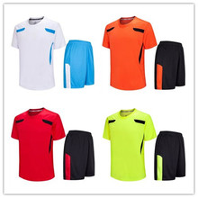 ``Can Mixed Order Hot Sale Blank Training Jerseys Adult Thai Quality Plain Soccer Uniforms 100% Polyester LD=5007(China)