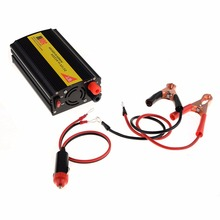 Safety Car Inverter 500W High Power Car Converter 12V to 220V Cigarette Lighter USB Charger Port Car Inversor Inverter(China)