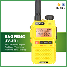 Hot Sell Mini Handy 3W Dual Display VHF UHF Portable Ham Intercom 2 Way Transceiver BF-UV3R