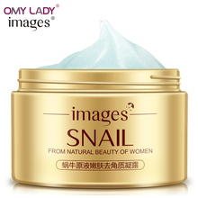 OMY LADY IMAGES tender skin gel hydrating snail essence cream Grind arenaceous soft&deep clean&refresh skin natural fragrance