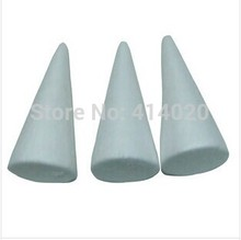 Wholesale 11Cm Christmas Children Diy Tools Natural White Styrofoam Cones Ornaments Balls for Handmade Diy Crafts
