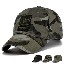 New Men Pentagram Cap Top Quality U.S. Army Caps Men's Hunting Fishing Hat Outdoor Camo Baseball Hats Adjustable(China)