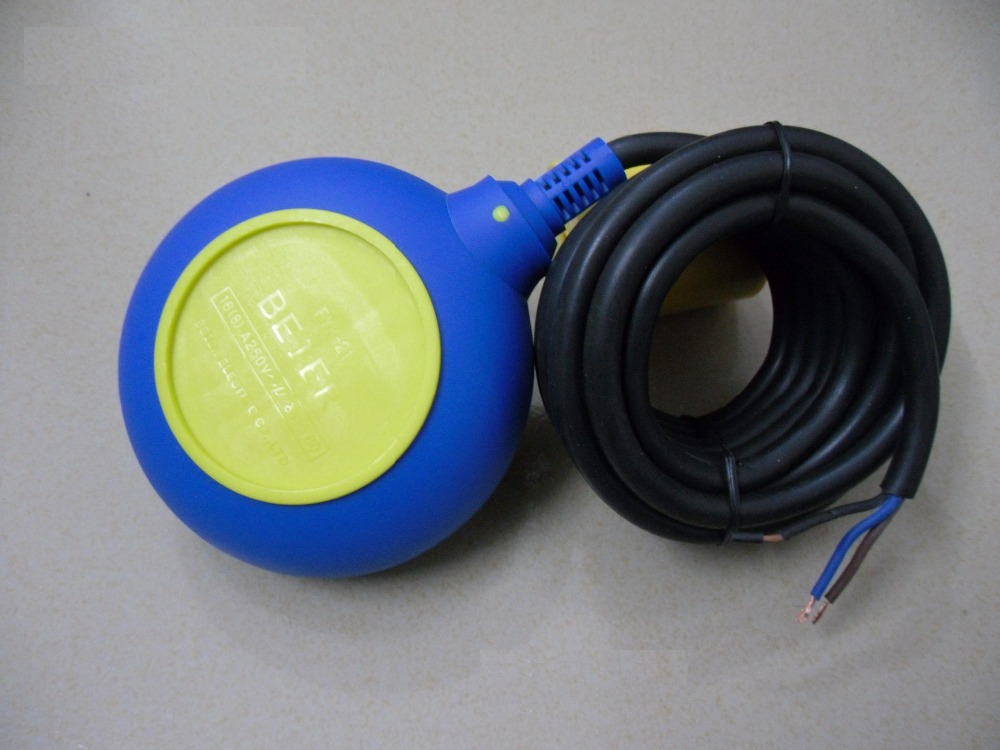 Free Shipping Float switch with 4M cable wire M15 use on water pump circular type and square type<br>