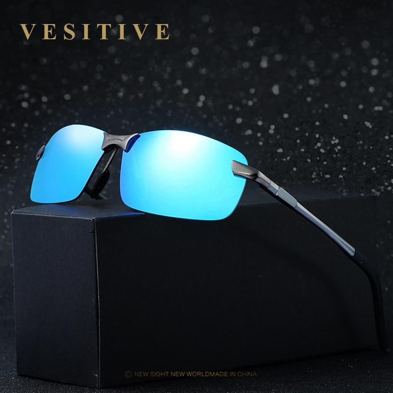 VESITIVE Retro Aluminum mirror Polarized Sunglasses Men Women brand designer Vintage Eyewear Driving / Fishing Sun Glasses 3043<br><br>Aliexpress