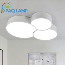 Contracted modern ceiling lamp Aluminum and acrylic LED light Hall Porch Walkway Lobby bar store decorate Light Fixture