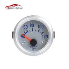 Auto Car 2 Inch 52mm 40~120 Celsius Degrees Water Temperature Meter Gauge with Sensor Car Standard Instrument(China)