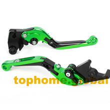 Motorbike Accessories CNC Foldable&Extendable Brake Clutch Levers For Kawasaki ZZR1200 2002-2005 2003 2004