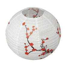 CSS 14'' Lamp Shade Paper Lantern Oriental Style Light Decoration(China)