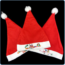1pc Red Chirstmas Santa Claus Hats New Year Kids Children Hat Caps Costume Christmas Decoration 2016 J2Y