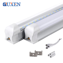 50pcs SMD 2835 Integrated LED tube T8 85-265V 18W 22W 1200mm 1.2M 4ft Led tubes 5 years warranty(China)