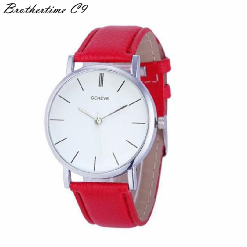 Womens Retro Design Leather Band Analog Alloy Quartz-wantch reloj pulsera mujer relojes horloge montres femmes Watch<br><br>Aliexpress