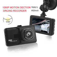 Hot New T626(1) HD 3 Inch Wide Angle 1080P Motion Detection 170 Degree Car Camera Recorder Vehicle Black Box DVR