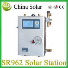 China Solar Solar pump work station  SR962 double pipes for Split pressurized hot water  system