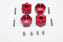 GPM THUNDER TIGER KAISER XS ALLOY WHEEL HEX ADAPTER 12MMX10MM - 4PCS SET HEX1210(China)