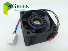 Delta 12V 1.01A 4028 40MM 4CM 40 * 40 * 28 mm 1U 2U server fan Big power Cooling fan FFB0412UHN-BC2E with 4pin(China)