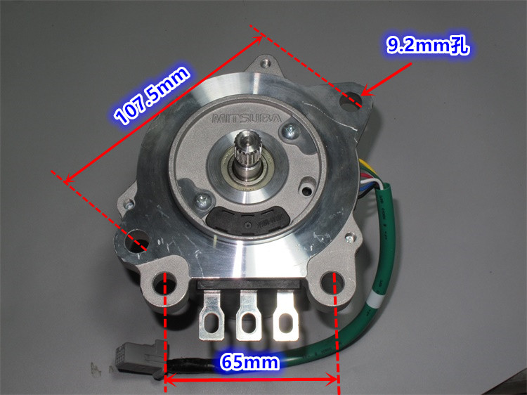 12V -24V 600W powerful Brushless servo motor , high torque<br>