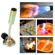 Metal Flame Butane Gas Stove Fire Torch Lighters Cooking BBQ Picnic Stove Gas Tank is not included For Outdoor Camping