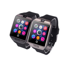 New Arrival fashion Smart With Watch Camera Support SIM Card Bluetooth Smart Sport Wrist Watch Phone Mate For Android Smartphone