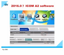 2016.07 for BMW ICOM A2 b c Software in 500GB HDD Native Software for BMW ICOM ISTA/D (3.54.12) & ISTA/P(58.0.500)
