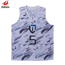 Unique Design Digital printing full sublimation Basketball jerseys for Boys