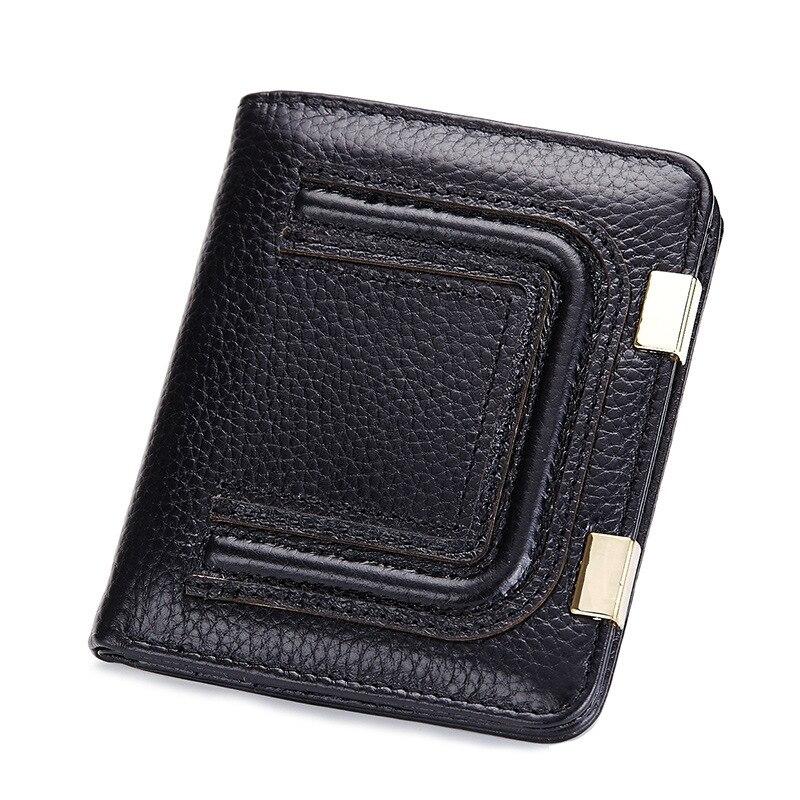 Genuine Leather High Quality Small Purse New 2017 Fashion Women Clutch Bag Hasp Slim Mini Ladies Wallet Wallets Female Bolsas<br><br>Aliexpress