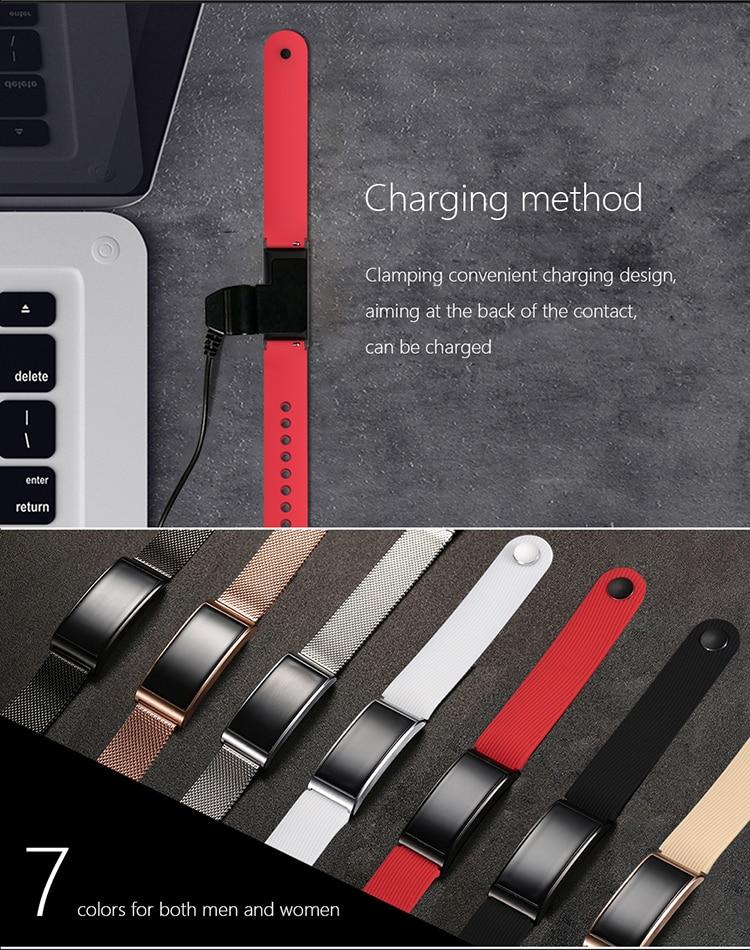 Microwear X3 IP68 Waterproof smart fitness bracelet pedometer blood pressure smart wristband Android iOS fitness tracker 24