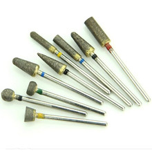High Quality 30 Pieces/Lot Dental Lab Tool Sintered Diamond Bur Polisher Trimming Drill For Metal Ceramics Jewellery 2.35 mm(China)
